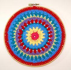 Mitten and Makings: Crochet Mandala