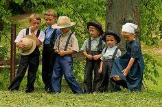 Ohio Amish children