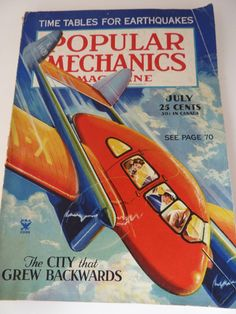 1935 Popular Mechanics Magazine by BonniesVintageAttic on Etsy, $19.00