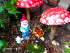 (1) Hometalk :: Charmed Gardens (a Collection of Fairy & Miniature Garden Making Tips)