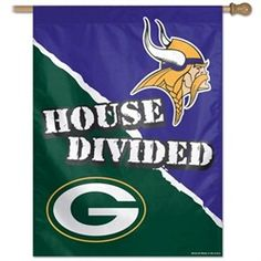 OneStopFanShop: Minnesota Vikings Flags - Vertical Outdoor Vikings House Flag