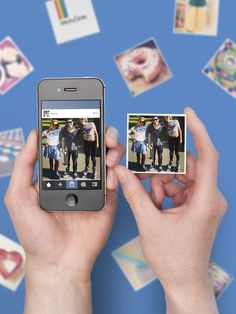 Stickygram: turn your instagram pictures into magnets.  Also make iphone covers and ipad covers by using collages of your pictures