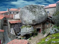 castl, mountain, real life, stone, hous, rock, the village, museum, place
