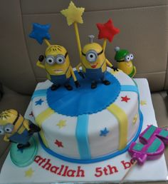 minion birthday cake  | Minion Birthday Party Theme