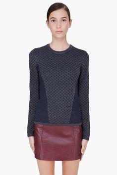 RAG & BONE Navy Amanda Sweater