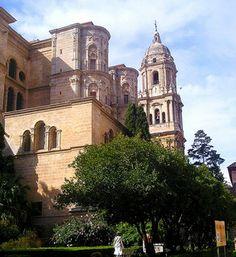 Beautiful city of Malaga Spain