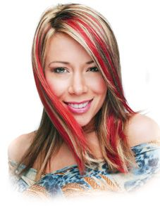 blonde and red hair color ideas - Google Search  really like this one!