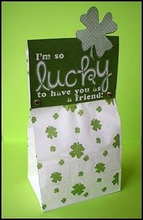 I'm so lucky to have you as a friend...for St. Patrick's day