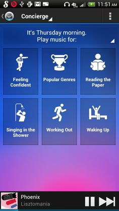Ever heard of the Songza App? If no, here is a brief description: It plays music for your mood, given the time of day and past preferences. Of course, there is a social aspect to the application as well as the always important customization features. Lets imagine this concept for everyday purchases...