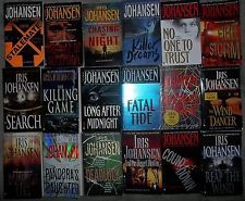 IRIS JOHANSEN BOOKS...I have read all of her books and still keeping up with new novels of Eve Duncan series and Queens.