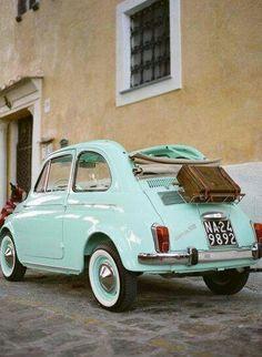 mini car, makes me think of Paris
