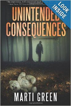 Unintended Consequences by Marti Green.  Cover image from amazon.com.  Click the cover image to check out or request the suspense and thrillers kindle.