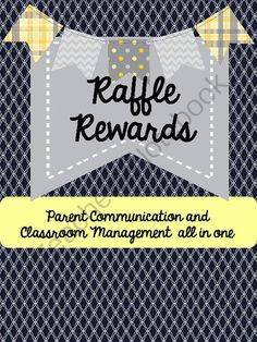Back to School Blast!! Enter for your chance to win 1 of 2.  Raffle Rewards Connecting Home Communication with Classroom Management (35 pages) from TeachingLife on TeachersNotebook.com (Ends on on 8-31-2014)  There are 14 certificates (in color and black&white) with an attached raffle ticket. The certificate goes home fostering positive connections between school and home and the raffle ticket goes into the classroom raffle jar!  Perfect for any age group :)