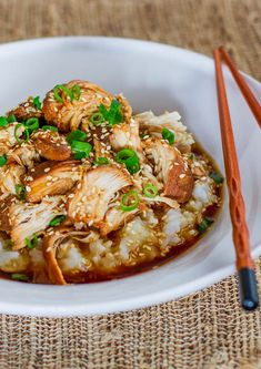 Slow Cooker Teriyaki Chicken - chicken melts in your mouth, easy and delicious.