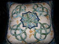 celtic quilt using bias tape.