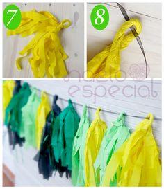 Como hacer guirnaldas de papel. | Hazlo Especial