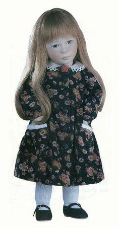Rosalie, 17 inch all-felt doll by Maggie Iacono, LE80, originally 695 dollars