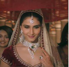 Vaani Kapoor as a Beautiful, Dazzling #IndianBride for @tbz1864 http://www.tbzTheOriginal.com/ Bridal #Jewelry TVC