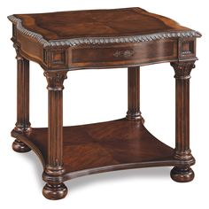 Have to have it. A.R.T. Furniture Capri Square End Table - Claret $460