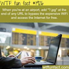How to access wifi in airport - WTF fun facts I will try this to see if it works