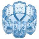 salt cellars, light blue, salt dish, glass salt, blue glass, salt box, spoon, saltcellar