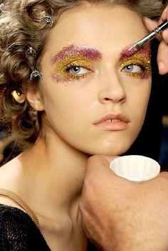 face makeup, eye colors, glitter party, glitter girl, glitter makeup, beauti, hair, mardi gras, eyes