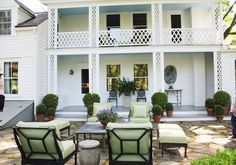 Bunny Williams porch/terrace