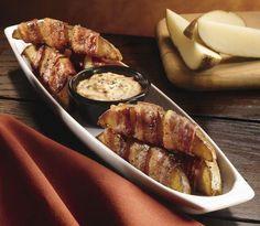 Longhorn Steakhouse Copycat Recipes: Bacon Wrapped Potato Wedges