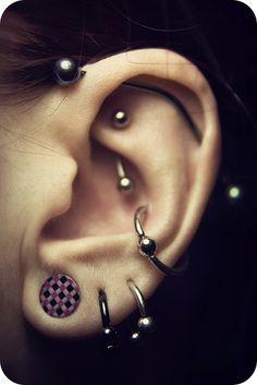 piercings woot!
