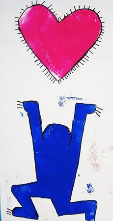 Keith Haring- Lines and Motion - Kindergarten