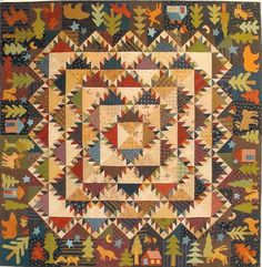 Four Seasons: Autumn Trail quilt pattern by Lori Smith