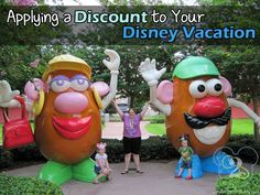 Tips on applying a discount to your Disney Vacation