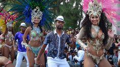 Carnival at Flic en Flac Mauritius.