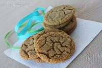 """Ginger Spice Cookies from """"Our Best Bites"""" blog...my favorite family recipes site. These are 3pp each on Weight Watchers (a real taste of Fall)"""