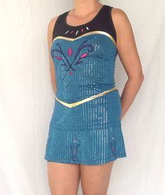 LIMITED EDITION Elsa Coronation inspired complete running outfit on Etsy, $170.00