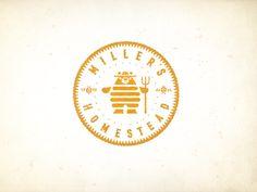 WIP...Millers Homestead Crest logo by mike bruner