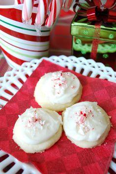 Peppermint Meltaways - Christmas Cookies
