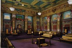 Freemason Temple Room
