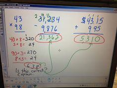 """Blog post about asking students to """"proofread"""" your math!"""