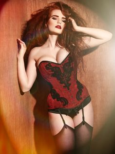 Miss.Deadly.Red by  Julian Kilsby | valkyrie corsets
