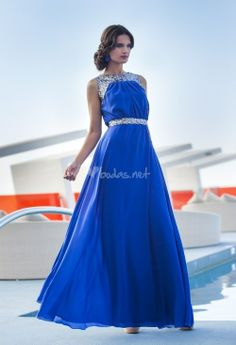 Vestido azul de Moncho Heredia - http://www.bodas.net/cat-DressList.php?tipo=2&Disenador=231