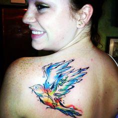 Next tattoo will be a watercolor tattoo!
