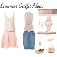 """Summer Outfit Ideas"" by katestevens on Polyvore"