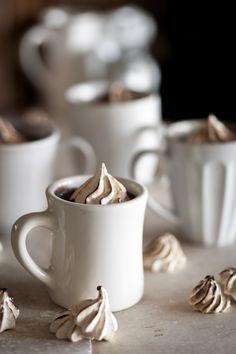 Bourbon Spiked Hot Chocolate