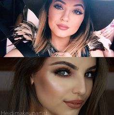 The Kylie Jenner makeup that no one can shut up about. I personally like this MUAs look better.
