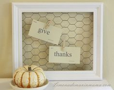White framed chicken wire memo board...black or red frame instead... Great idea for my kitchen!!