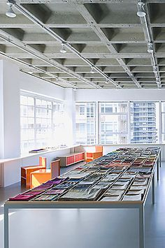 Maharam, Dallas, designed by fernlund + logan architects  that huge table!