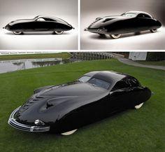 futuristic minimalist car design
