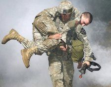 Nothing is stronger than the will of a soldier.
