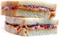 lunch box tip. Make a whole loaf of peanut butter and jelly sandwiches, wrap individually, stack back in the bread bag and put in the freezer for easy lunches! Wish I could say I thought of it myself!